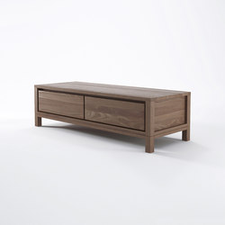 Solid TV CHEST 1 DRAWER 1 FLAP DOOR | Muebles Hifi / TV | Karpenter