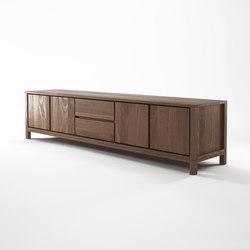 Solid SIDEBOARD 4 DOORS 2 DRAWERS | Sideboards | Karpenter
