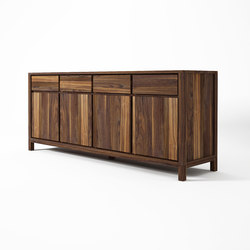 Solid SIDEBOARD 4 DOORS 4 DRAWERS | Sideboards | Karpenter
