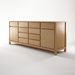Solid SIDEBOARD 2 DOORS 10 DRAWERS | Sideboards | Karpenter