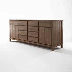 Solid SIDEBOARD 2 DOORS 10 DRAWERS | Sideboards / Kommoden | Karpenter