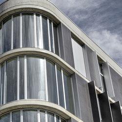 Blend - Grigio | Ejemplos de fachadas | Laminam