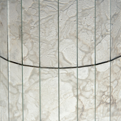 Mosaico Damasco Diamante 10. | Dekoratives Glas | Antique Mirror