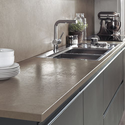 Fokos - Roccia | Kitchen countertops | Laminam