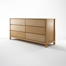 Solid CHEST 6 DRAWERS | Clothes sideboards | Karpenter