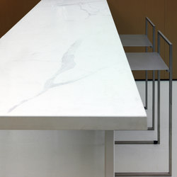 I Naturali - Marmi Bianco | Tabletops | Laminam