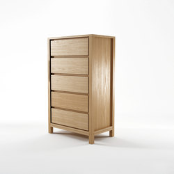 Solid CHEST 5 DRAWERS | Cómodas | Karpenter
