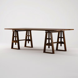 Trestle DINING TABLE | Mesas comedor | Karpenter
