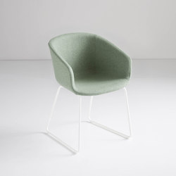 Basket Chair ST | Visitors chairs / Side chairs | Gaber