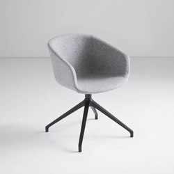 Basket Chair U | Visitors chairs / Side chairs | Gaber