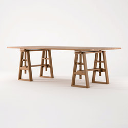 Trestle DINING TABLE | Dining tables | Karpenter