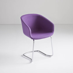 Basket Chair CTL | Visitors chairs / Side chairs | Gaber