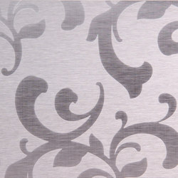 Floral | 300 | Paneles | Inox Schleiftechnik
