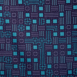 Cornered 4203 02 Fluorite | Fabrics | Anzea Textiles