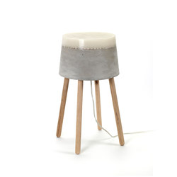 Concrete Table Lamp medium | General lighting | Serax