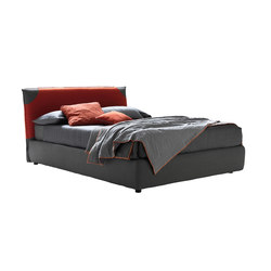 Fair con copritestiera well | Double beds | Bolzan Letti