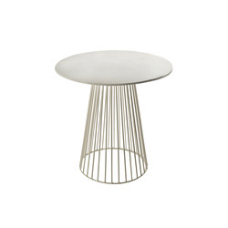Antonino Bistrot Table Garbo40 Round White | Tavolini alti | Serax