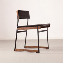 Catenary Dining Chair - Solid Seat | Visitors chairs / Side chairs | Token