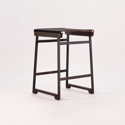 Catenary Backless Stool | Hocker | Token
