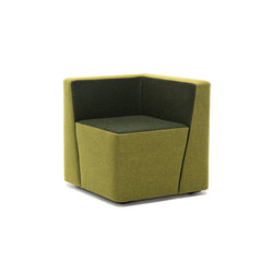 Bit armchair | Modular seating elements | Martela