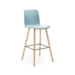 Sola barstool wooden base | Bar stools | Martela