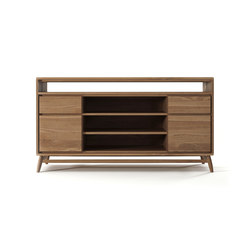 Twist SIDEBOARD W/ 2 DRAWERS & 2 DOORS | Sideboards / Kommoden | Karpenter