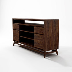 Twist SIDEBOARD W/ 2 DRAWERS & 2 DOORS | Sideboards | Karpenter
