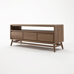 Twist TV CHEST W/ 3 DRAWERS | AV cabinets | Karpenter