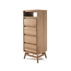 Twist TALL BOY W/ 4 DRAWERS | Sideboards | Karpenter