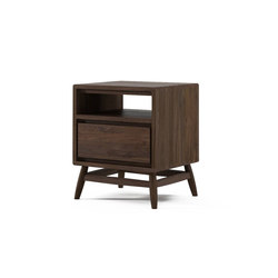 Twist SIDE / BEDSIDE TABLE W/ DRAWER | Tables de chevet | Karpenter