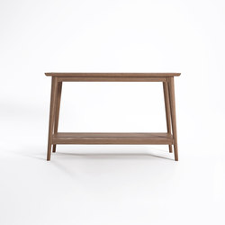 Vintage CONSOLE TABLE W/ SHELF | Konsoltische | Karpenter