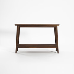 Vintage CONSOLE TABLE W/ SHELF | Consolle | Karpenter