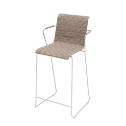 Slim Collection Lounge | Barstool Belt with armrest | Bar stools | Viteo