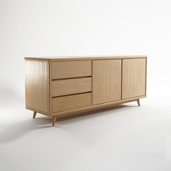 Vintage SIDEBOARD W/ 3 DRAWERS & 2 DOORS | Sideboards / Kommoden | Karpenter