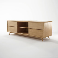 Vintage TV CHEST W/ 4 DRAWERS | Hifi/TV Schränke / Kommoden | Karpenter