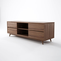 Vintage TV CHEST W/ 4 DRAWERS | Muebles Hifi / TV | Karpenter