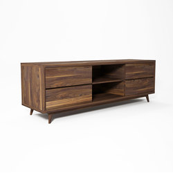 Vintage TV CHEST W/ 4 DRAWERS | Credenze multimediali | Karpenter