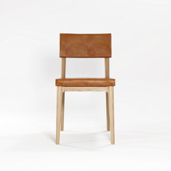 Vintage DINING CHAIR W/ LEATHER | Chaises | Karpenter