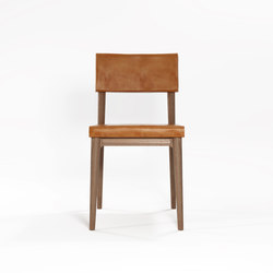 Vintage DINING CHAIR W/ LEATHER | Sillas | Karpenter
