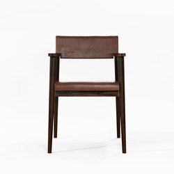 Vintage ARM CHAIR W/ LEATHER | Sillas | Karpenter