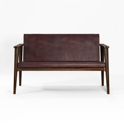 Vintage SOFA 2 SEATERS W/ LEATHER | Bancos | Karpenter