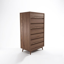 Vintage TALL BOY W/ 7 DRAWERS | Cassettiere | Karpenter