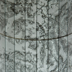 Mosaico Damasco | Argento 4. | Decorative glass | Antique Mirror