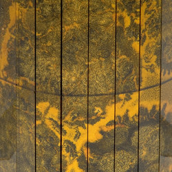 Mosaico Damasco Giallo 7. | Vetri decorativi | Antique Mirror