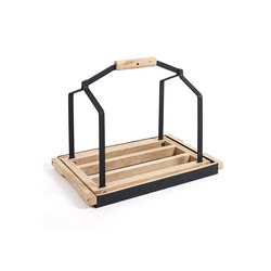 Daysign Wood Basket | Log holders | Serax