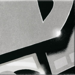 GRAFFITI black and white | Piastrelle ceramica | steuler|design