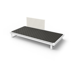 Pure Belt Backrest | Modular seating elements | Viteo