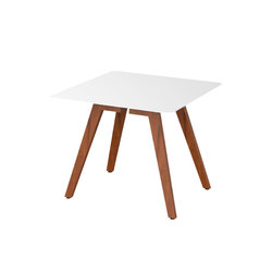 Slim Wood Collection Dining | Dining Table Wood 90 | Tavoli da pranzo da giardino | Viteo