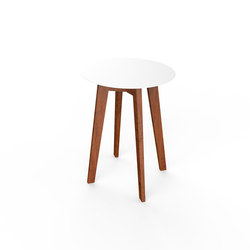 Slim Wood Table 64 | Mesas auxiliares de jardín | Viteo