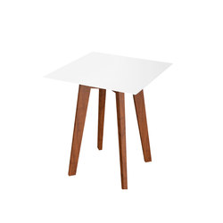 Slim Wood Collection Dining | Table Square Wood 64 | Tavoli da pranzo da giardino | Viteo